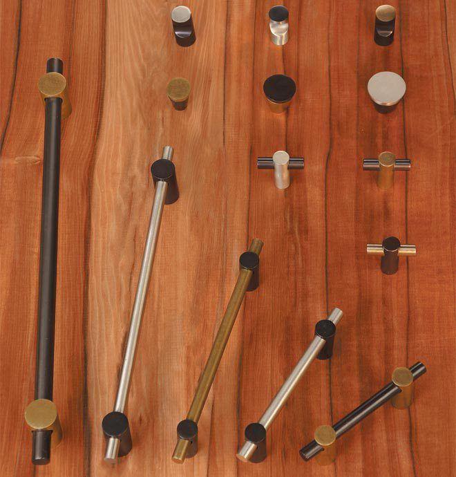 Decor Cabinets Hardware: Curve Series Two-Tone Finish Decorative