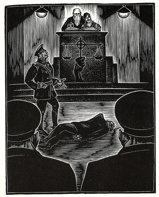 Graphic Novel illustration by Lynd Ward a by peacay, via Flickr