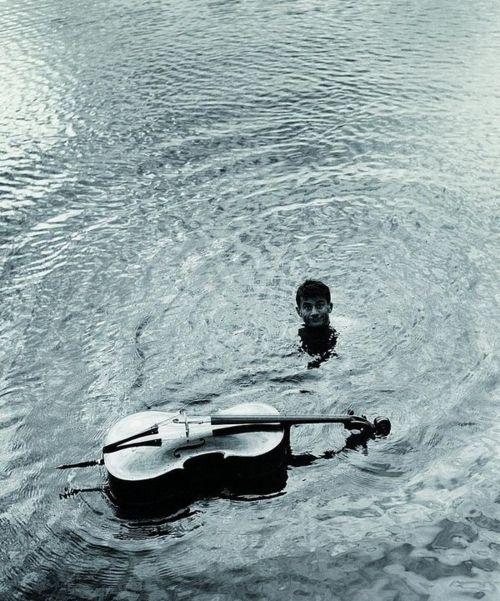 Robert Doisneau: Sabordage de Maurice Baquet, 1957