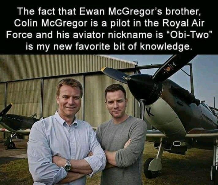 Pin By Marissa Andersen On Star Wars Ewan Mcgregor Air Force Memes Star Wars Memes