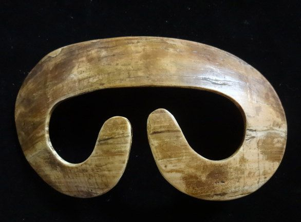 Tribal Asmat Septum Nose Piercing Headhunting Papua New Guinea Iphone Bipane by ubudexotica on Etsy