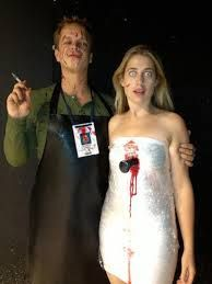scary couple halloween costume ideas - Google Search dexter & victim