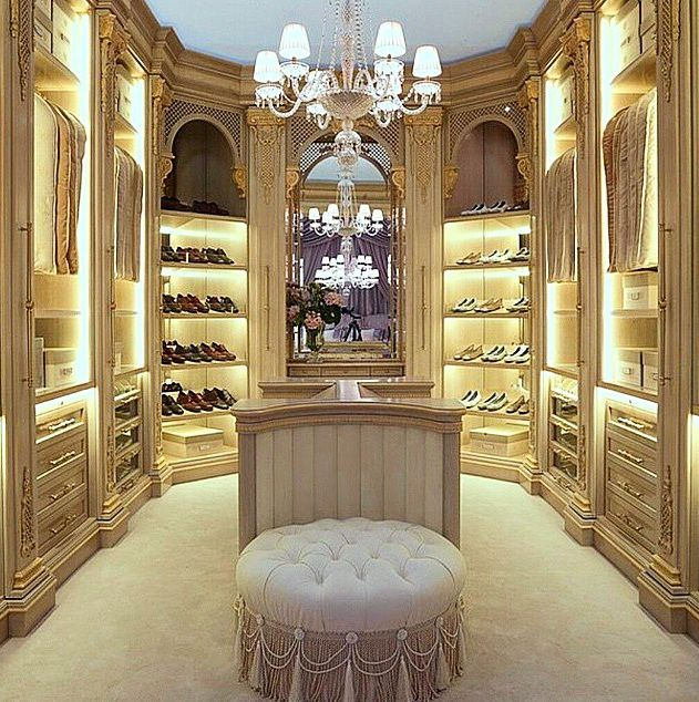 luxury dressing room, all neutral