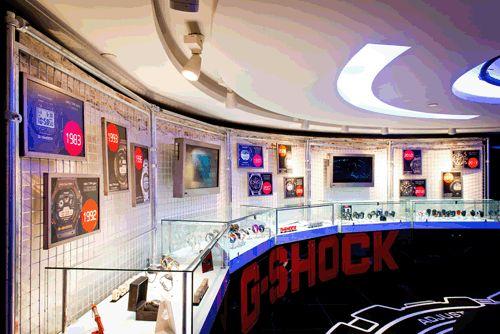 Casio G-Shock, Harrods, designed by Design4Retail