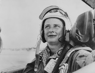 In 1953, Jerrie Cobb is the first woman in the U.S. to undergo astronaut testing. NASA, however, cancels the women's program in 1963. It is not until 1983 that an American woman gets sent into space.