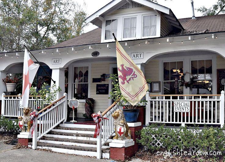 English Tea Room, Covington, Louisiana