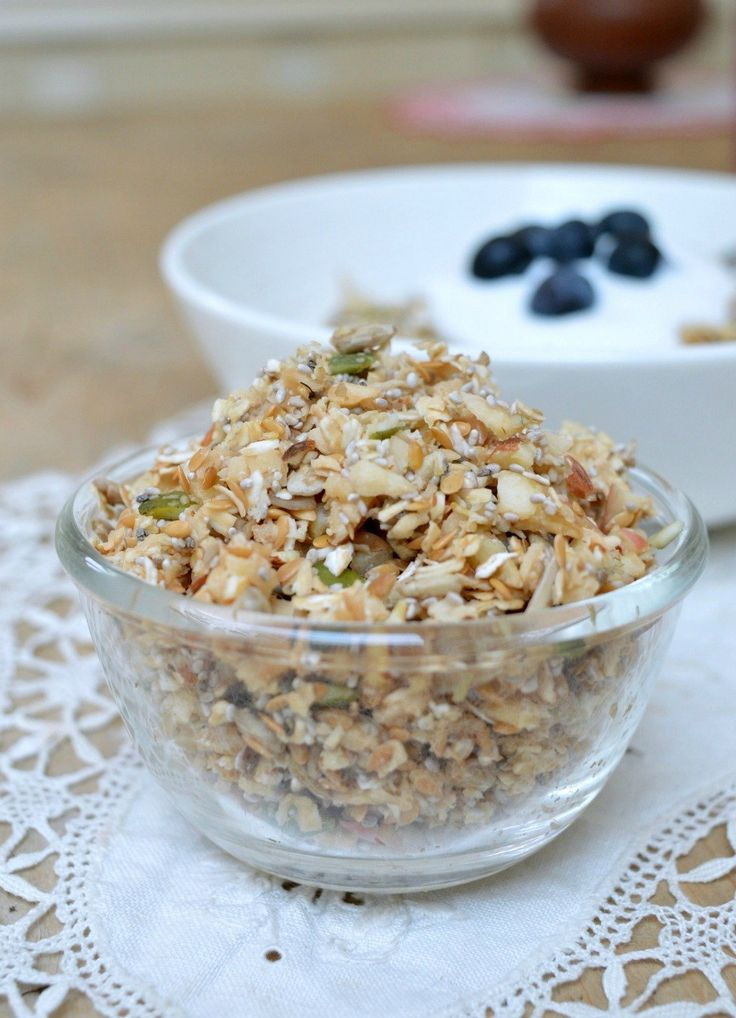 Thermomix Muesli is a healthy breakfast which can be thrown together in minutes, topped off with yogurt and fruit is the perfect way to start the day.