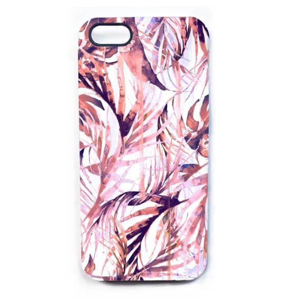 Pastel Paradise Palms Phone Case  | Nikki Strange | Wolf & Badger / Homeware / Fun Stuff / Gadgets & Cases