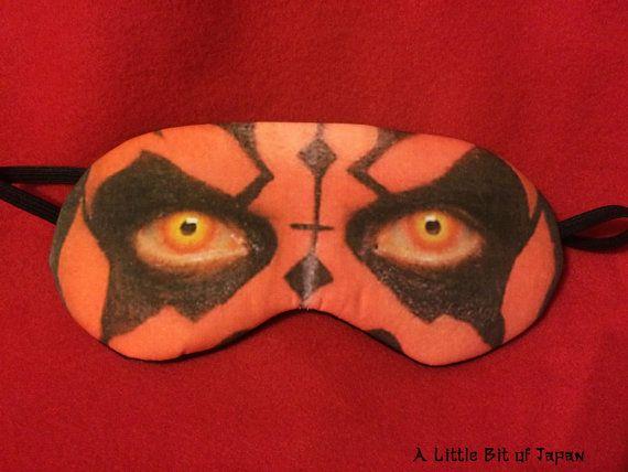 Cosplay-Schlafmaske  Darth Maul aus Star Wars