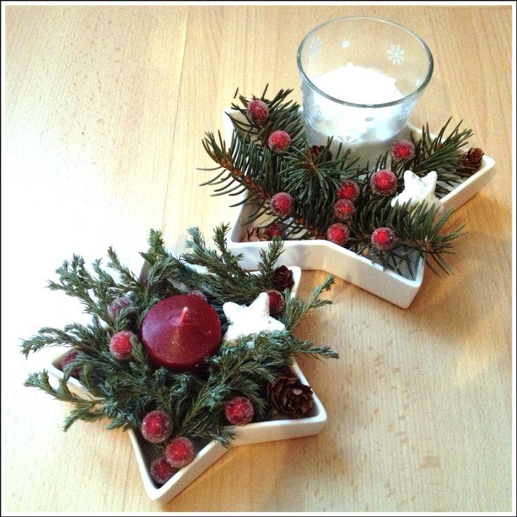 Vánoční hvězdičky :)