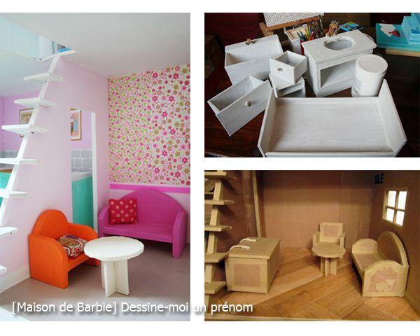 les meilleures id es concernant meubles barbie sur pinterest. Black Bedroom Furniture Sets. Home Design Ideas
