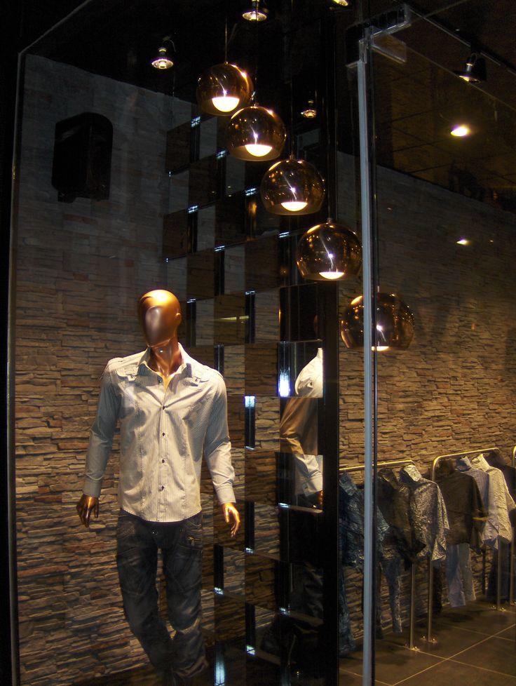 Mağaza Vitrin Aydınlatma Uygulaması www.tekinaydinlatma.com