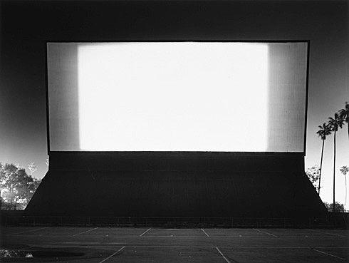 Hiroshi Sugimoto. Van Buren Drive-In, Van Buren. 1993 - Guggenheim Museum