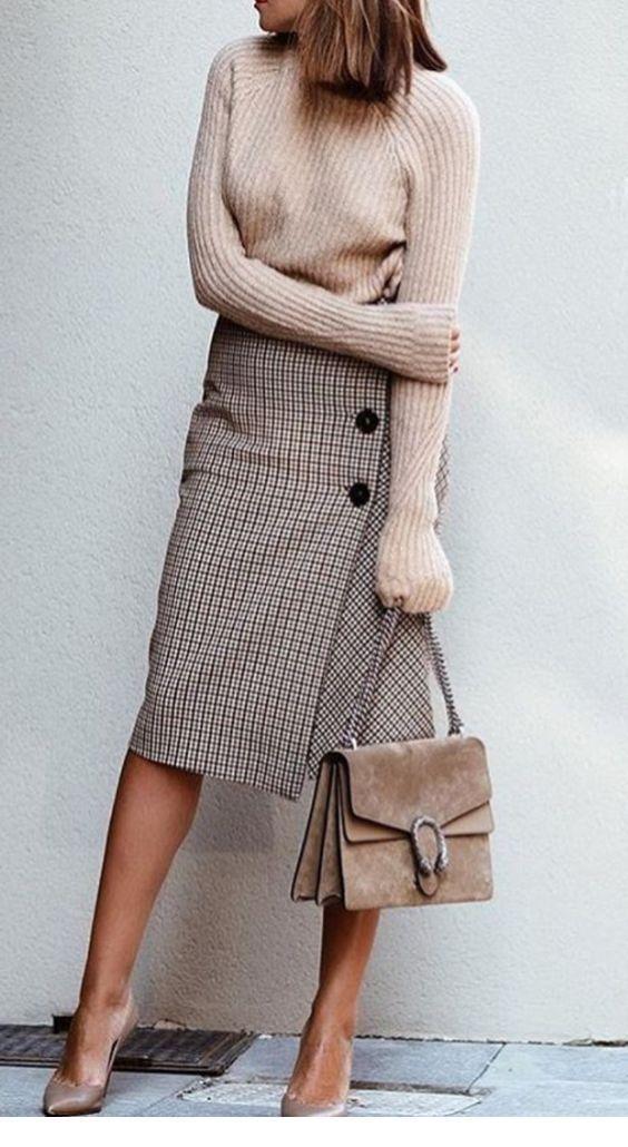52 wunderschöne Winter Outfits Ideen für Frauen # Mode # Frauen Stil # Frauen Stil