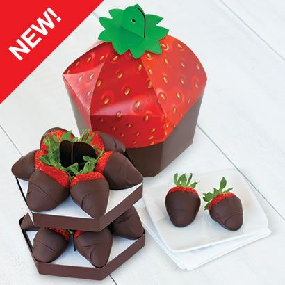 Chocolate Dipped Signature Berry Box™ Product Code: 3719 Shown: One Dozen