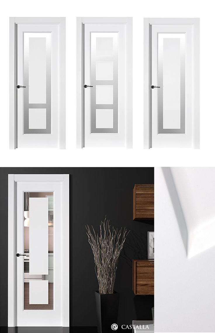 40 best puertas images on pinterest entrance doors for Puertas interiores blancas
