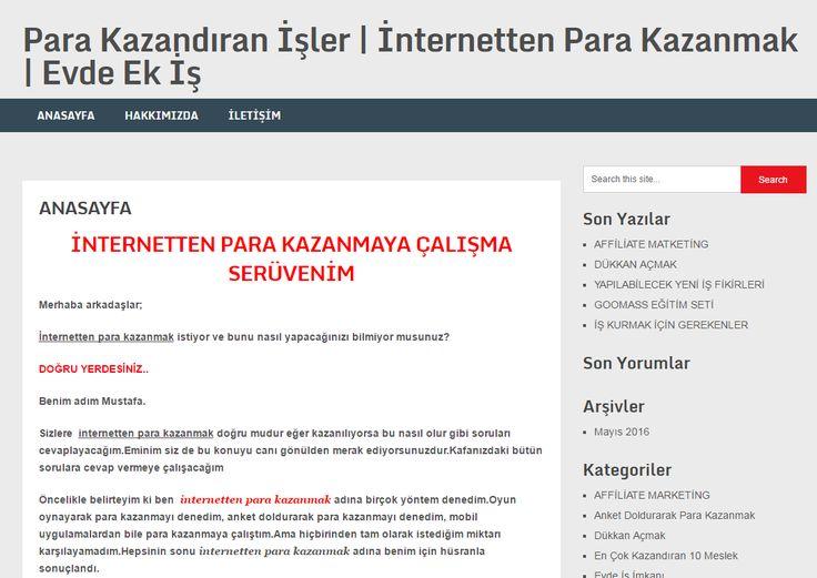 http://www.parakazandiranisler.net internetten para kazanmak , makale yazarak para kazanmak , marketglory