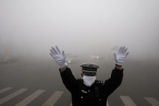 Photos from the smog-filled Chinese city of Harbin » Lost At E Minor: For creative people