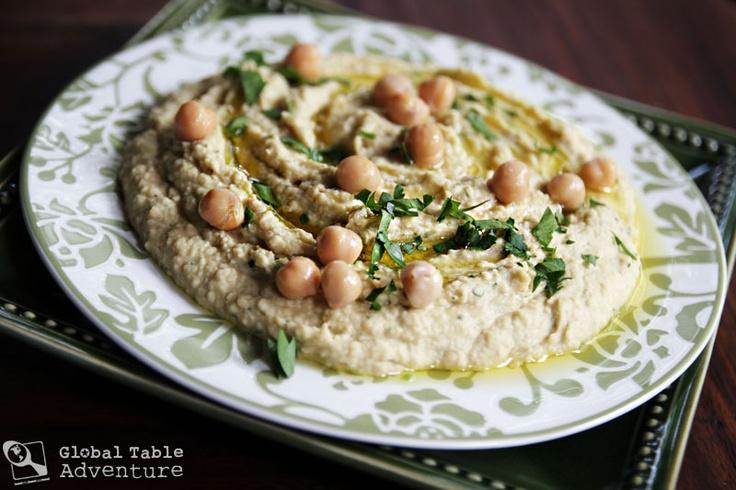 Quick Lemon-Garlic Hummus | Recipe