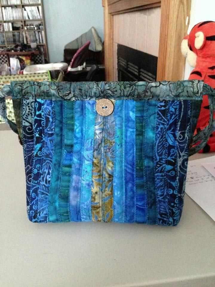 The Second Purse I Ever Made I Was Never Really A Quot Purse
