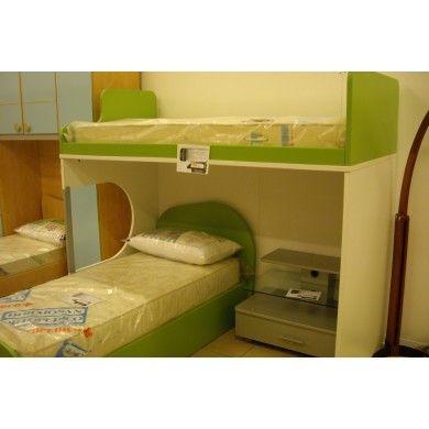 #Letto Castello Bambini #COLOMBINI Cedro #svendita