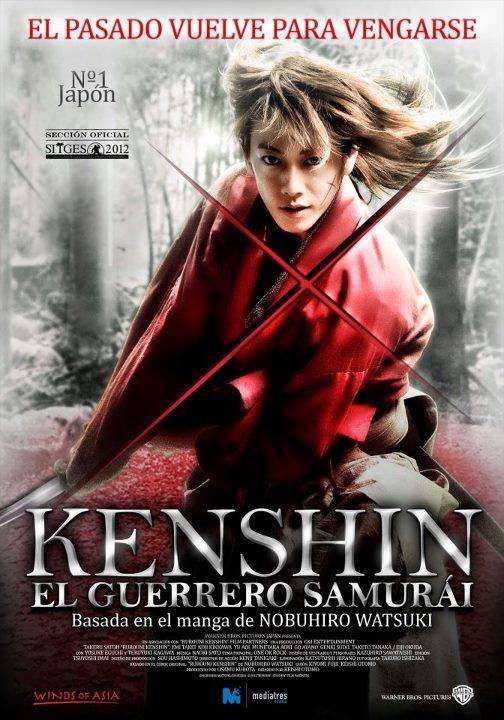 Kenshin, el guerrero samurai.