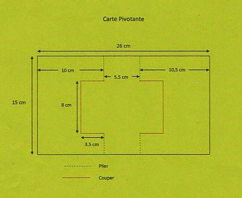 TUTO CARTE PIVOTANTE MENU               1,5 feuille A 4 de papier de  couleur 1.    1 feuille de papier A 4 de couleur  2.    papier à mo...                                                                                                                                                                                 Plus