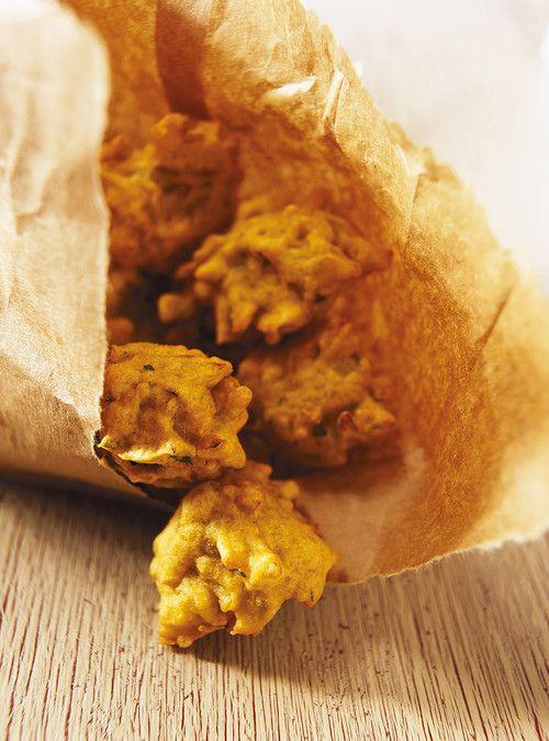 Bhaji à l'oignon (Beignets indiens à l'oignon)