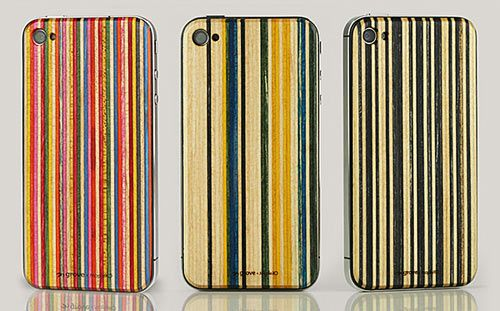 Grove is introducing a new breed of iPhone 4 and 4S cases called SkateBacks. Making a short journey from raw skateboard waste to eye-catching ply with Lindsay at MapleXO, the old skateboard scraps then become groovy cell phone cases at Grove.