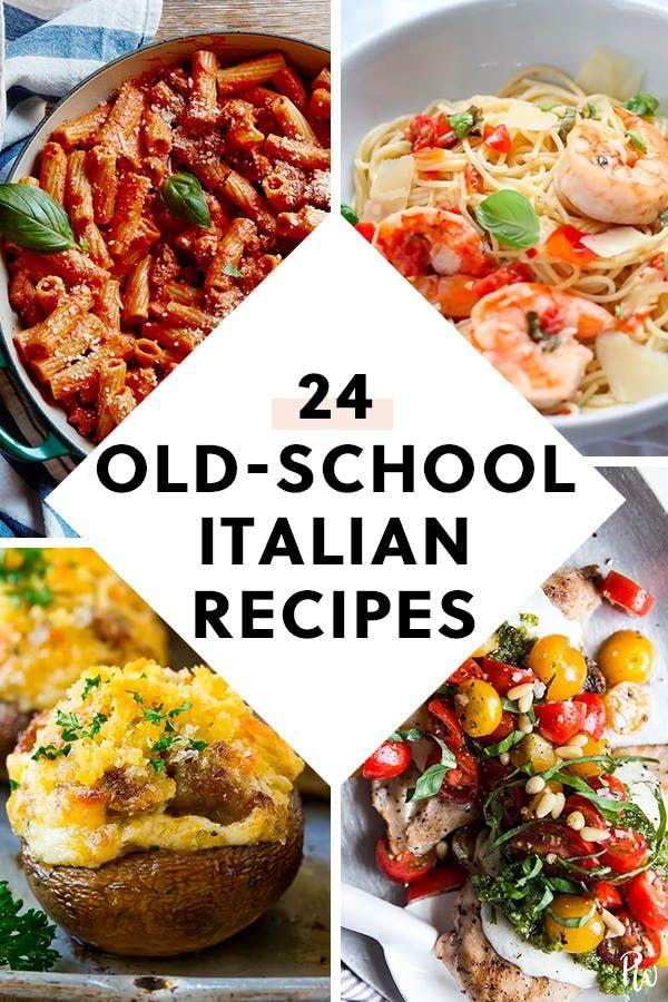 24 Old School Recipes Your Italian Grandma Used To Make Italian