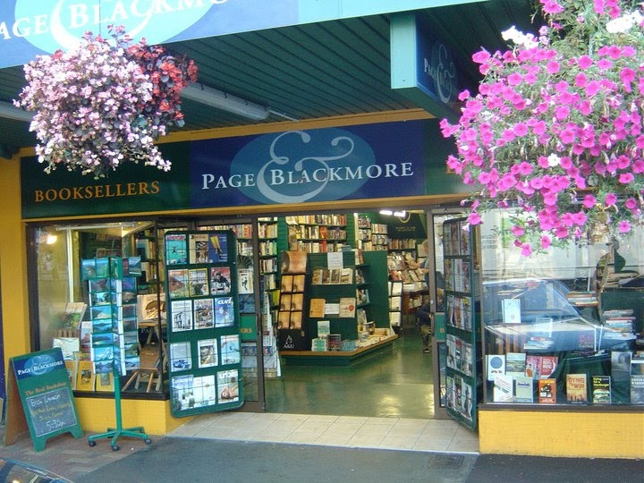 Page & Blackmore booksellers, Nelson