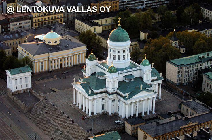 Helsinki, tuomiokirkko Ilmakuva: Lentokuva Vallas Oy