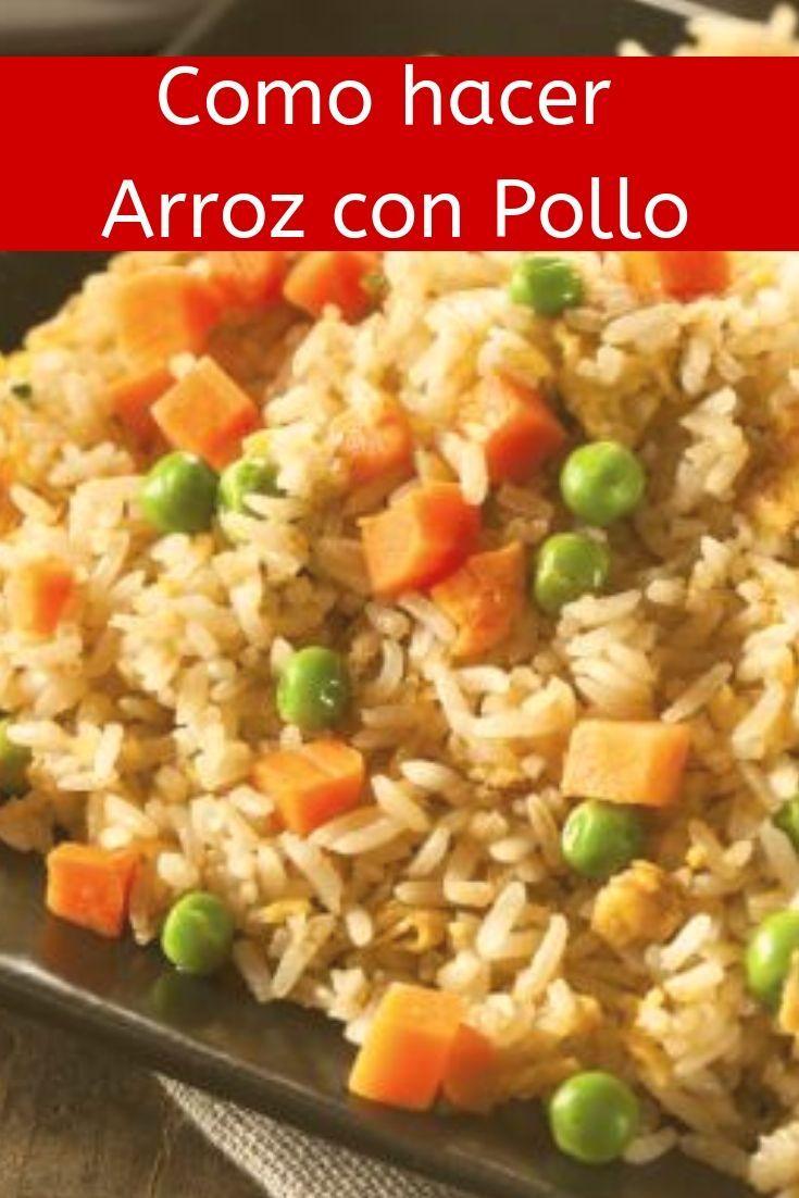 Receta Arroz Con Pollo Arroz Con Pollo Recetas De Arroz Con Pollo Recetas Fáciles