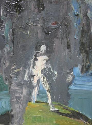 Smokey Figure by Euan Macleod