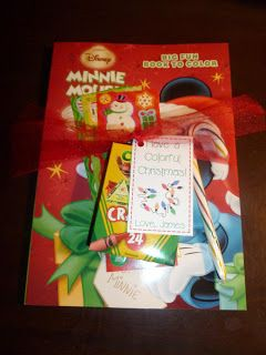 Room Mom Extraordinaire: Have a Colorful Christmas classmate gift