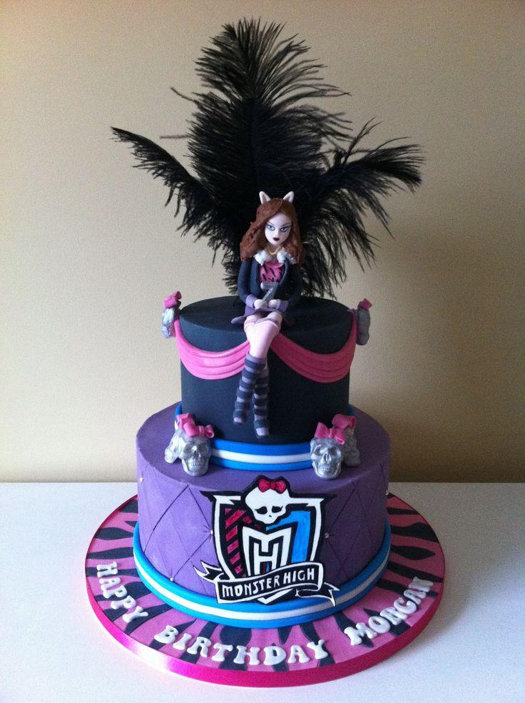 Yli tuhat ideaa Monster High Birthday Cake Pinterestiss