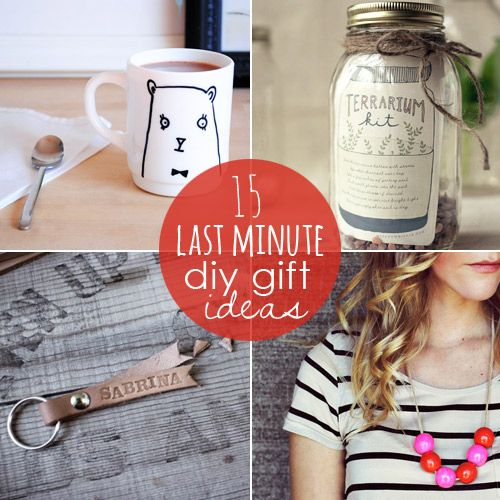 15 crafty and thoughtful last minute handmade gift ideas from Babble.com
