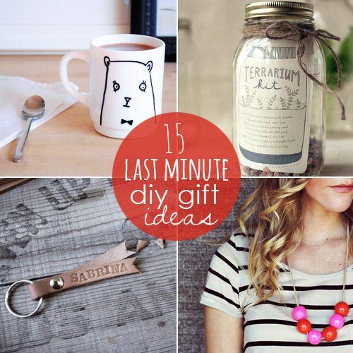 15 last minute diy gift ideas craft pinterest last for Idea diy door gift