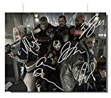#5: Suicide Squad Cast Signed Autographed 8x10 Photo Reprint RP COA 'Jared Leto Margot Robbie Will Smith Cara Delevingne Jai Courtney & Joel Kinnaman' http://ift.tt/2cmJ2tB https://youtu.be/3A2NV6jAuzc