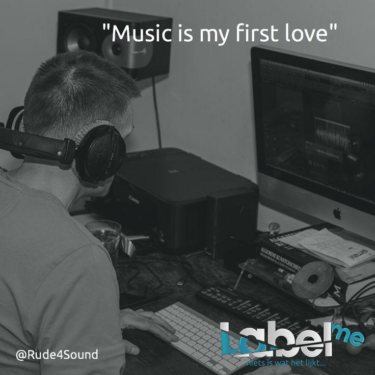 """Music is my first love"" @Rude4Sound #LabelMeFilm #making_ofMEER_WETEN? #LMF"