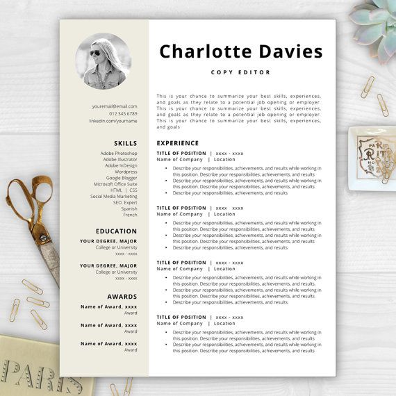 9 best Monogram Resume Templates images on Pinterest | Resume ...