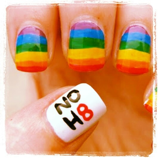 Pride Nail Designs: Nails By Tracy