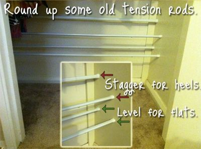 Tension rods can be used to hang shower curtains, bath towels, and... what else? Truth be told, this inexpensive household item is clearly underestimated. There are so many ways to put tension rods to use, and there's evidence to prove it. People have taken on the challenge of finding the best possi