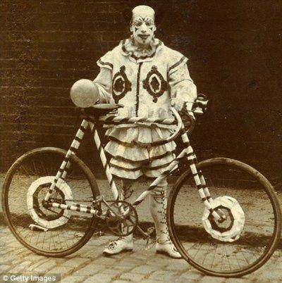 clown on wheels