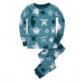 Hatley Ice Monster Pyjamas