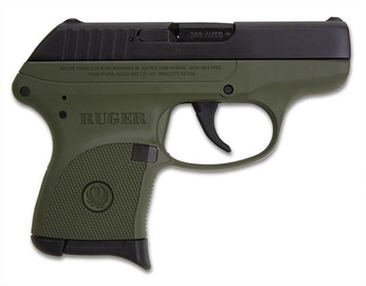 Ruger LCP .380 OD Green Limited Edition