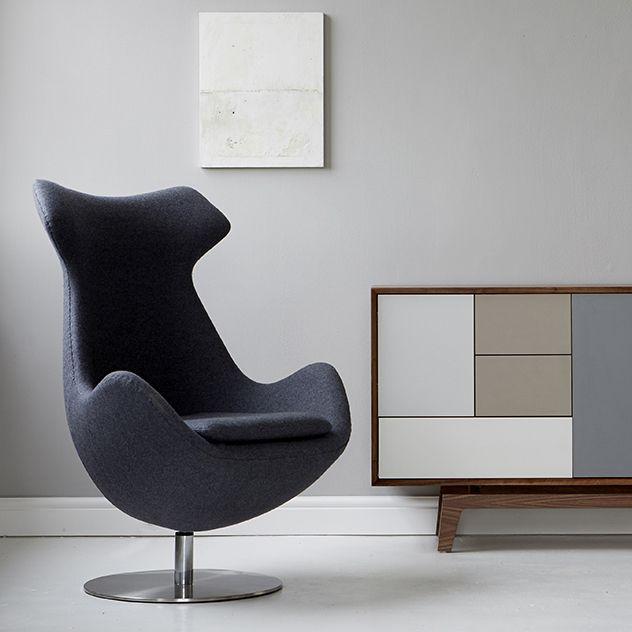 Steijer Lounge Chair - Lounge Chairs - Blue Sun Tree
