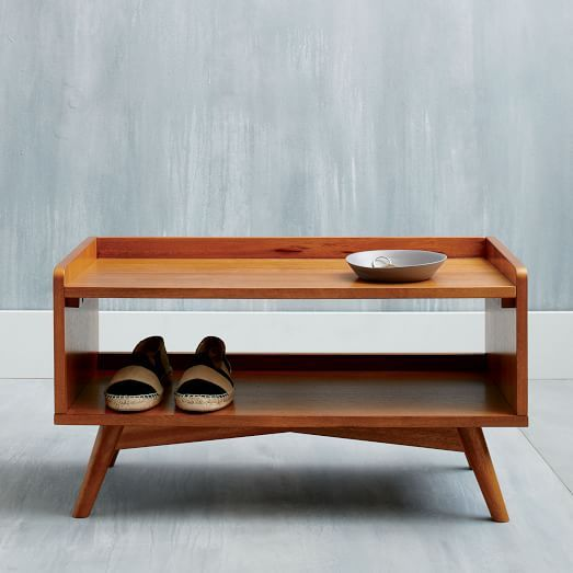 Mid-Century Shoe Rack | west elm