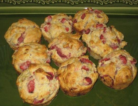 Strawberry Banana Muffins Recipe - Food.com