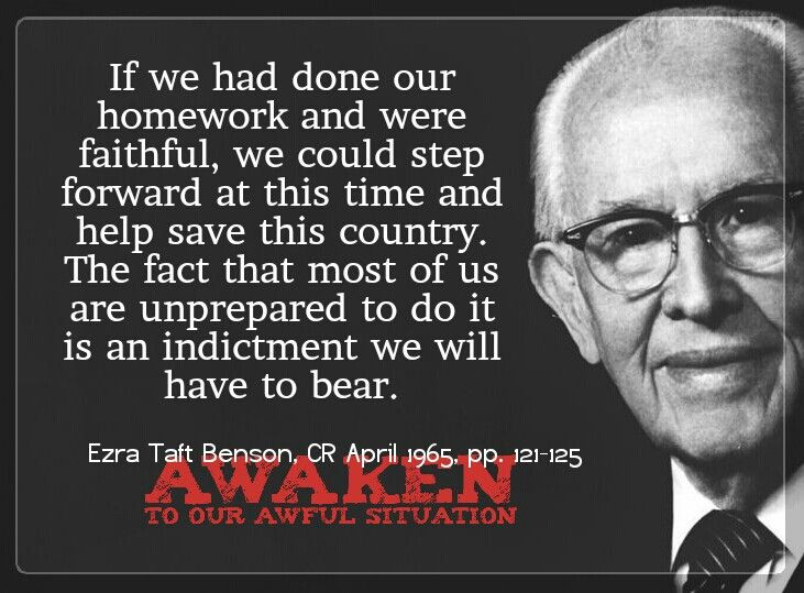 136 Best Images About LDS Prophets: Ezra Taft Benson On
